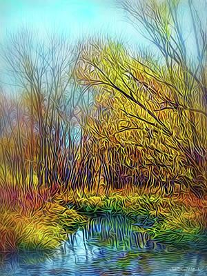 Digital Art - Call Of The Trees by Joel Bruce Wallach
