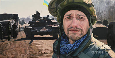 Painting - Call Sign The Musket - '... And People Have Been Killed' by Oleg Konin