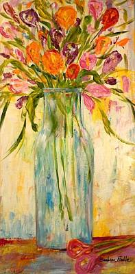 Painting - Calla Lilies by Barbara Pirkle