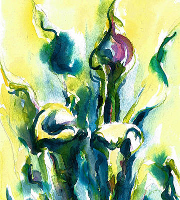 Painting - Calla Lilies - Early One Morning by Jacki Kellum