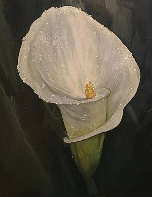 Etc. Painting - Calla Lilly  by Olivia Gbery