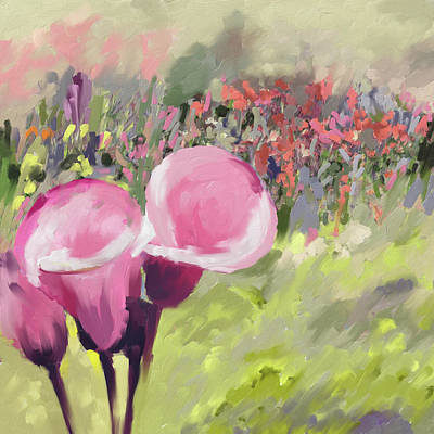 Calla Lily Painting - Calla Lily II 397 1 by Mawra Tahreem