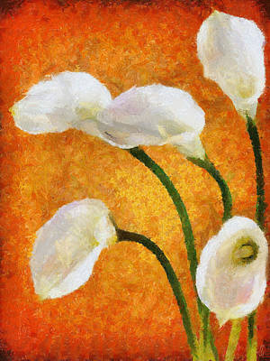Painting - Calla Lily II by Jai Johnson