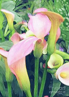 Digital Art - Calla Lily by Julie Knapp