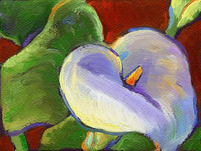 Painting - Calla Lily by Linda Ruiz-Lozito