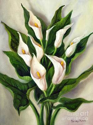 Painting - Calla Lily by Randy Burns