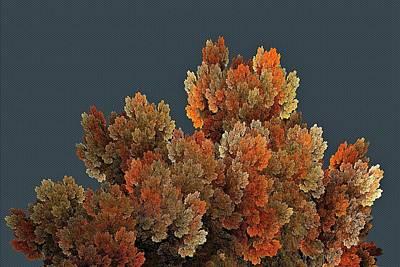Digital Art - Callahan Grove Autumn Gray by Doug Morgan