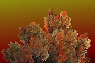 Digital Art - Callahan Grove Fall Sunset by Doug Morgan
