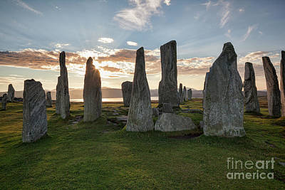 Megalith Photograph - Callanish, Isle Of Lewis IIi by Colin and Linda McKie