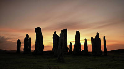 Photograph - Callanish Stones by Grant Glendinning