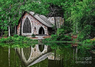 Photograph - Callaway Gardens Ida Cason Chapel by John Roberts