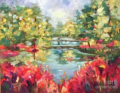 Painting - Callaway Gardens by Patsy Walton
