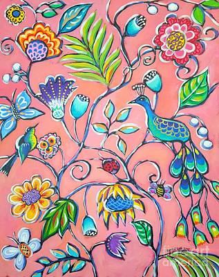 Callies Garden Art Print by Sandra Lett