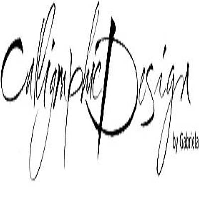 Calligraphic Drawing - Calligraphic Design by Amias Daniel