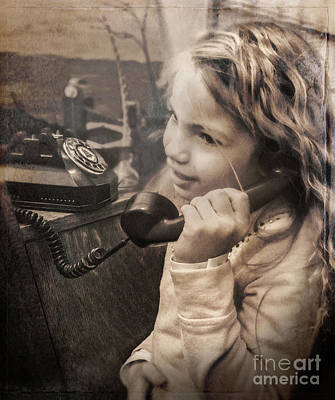 Photograph - Calling A Friend by John Anderson