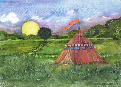 Calliope's Tent Art Print