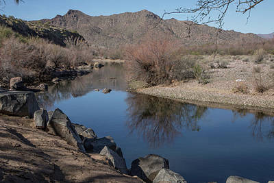 Photograph - Calm Along The Salt River by Teresa Wilson