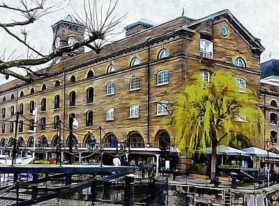 Photograph - Calm At St Katharine Docks London by Dorothy Berry-Lound