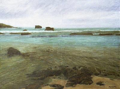 Painting - Calm Beach by Masami Iida