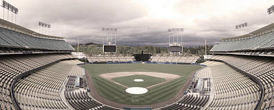 Dodgers Photograph - Calm Before The Blue Storrm by Esteban Ramirez