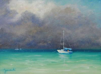 Painting - Calm Before The Storm by Alan Zawacki