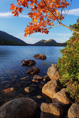 Maine Mountains Photograph - Calm Before The Storm by Chad Dutson