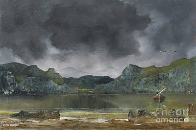 Painting - Calm Before The Storm by Ken Wood