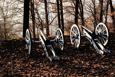 Photograph - Calm Before The Storm, Valley Forge, Pa. by Gerald Salamone