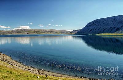 Photograph - Calm Blue Lake by Patricia Hofmeester