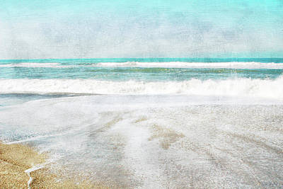 Mixed Media - Calm Coast- Art By Linda Woods by Linda Woods