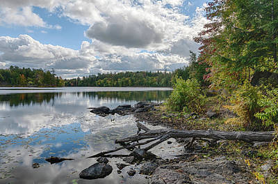 Photograph - Calm Day At The Lake by Ian Sempowski