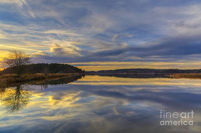 Painterly Photograph - Calm Evening by Veikko Suikkanen