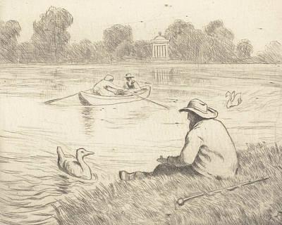 Relief - Calm Excursion by Treasury Classics Art