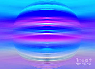 Digital Art - Calm Frequency by Krissy Katsimbras