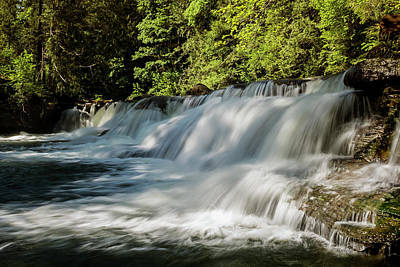 Photograph - Calm In Your Heart - Waterfall Art by Jordan Blackstone