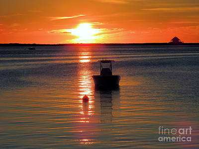 Photograph - Calm At Sunrise Plymouth Ma  by Janice Drew
