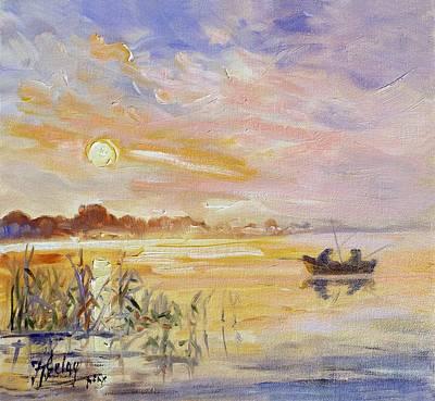 Painting - Calm Morning by Irek Szelag