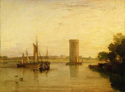 1775 Painting - Calm Morning by Joseph Mallord William Turner