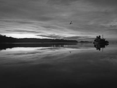 Art Print featuring the photograph Calm Morning  by Mark Alan Perry