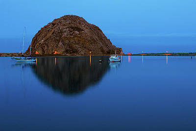 Photograph - Calm Morning, Morro Bay, California by Terry Garvin
