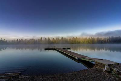 Kootenay Lake Photograph - Calm Norbury Lake by Darcy Michaelchuk