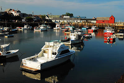 Photograph - Calm On Rockport by James Kirkikis