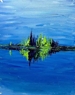 Painting - Calm On The Lake by Desmond Raymond