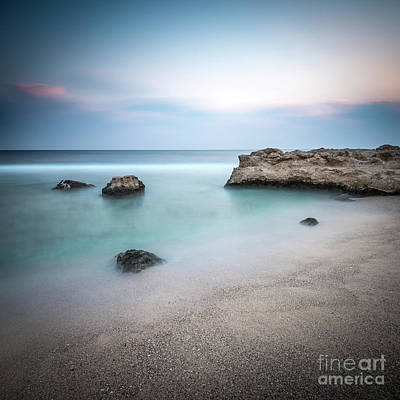 Photograph - Calm Red Sea 1x1 by Hannes Cmarits