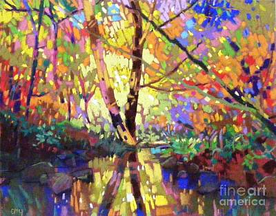 Painting - Calm Reflection by Celine  K Yong