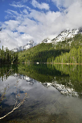 Photograph - Calm Reflection On String Lake by Ray Mathis