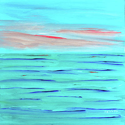 Painting - Calm Sea by Haleh Mahbod