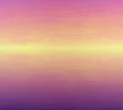 Painting - Calm Sea by James W Johnson