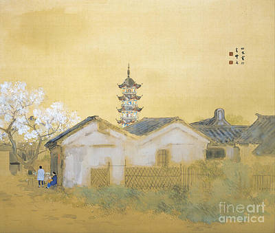 Painting - Calm Spring In Jiangnan by Reproduction