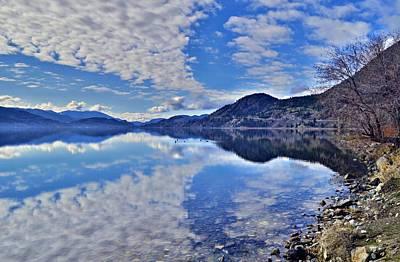 Skaha Lake Photograph - Calm Waters At Skaha Lake Along The Kvr Trail by Tara Turner
